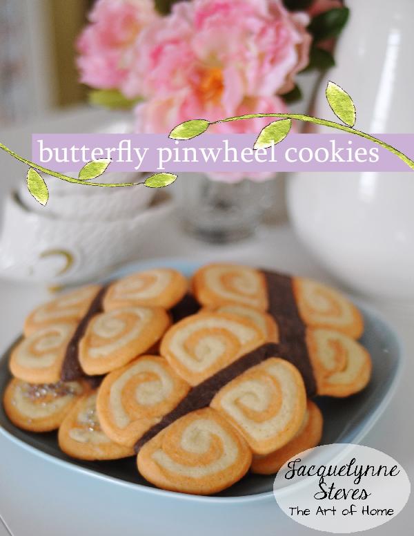 Butterfly Pinwheel Cookies