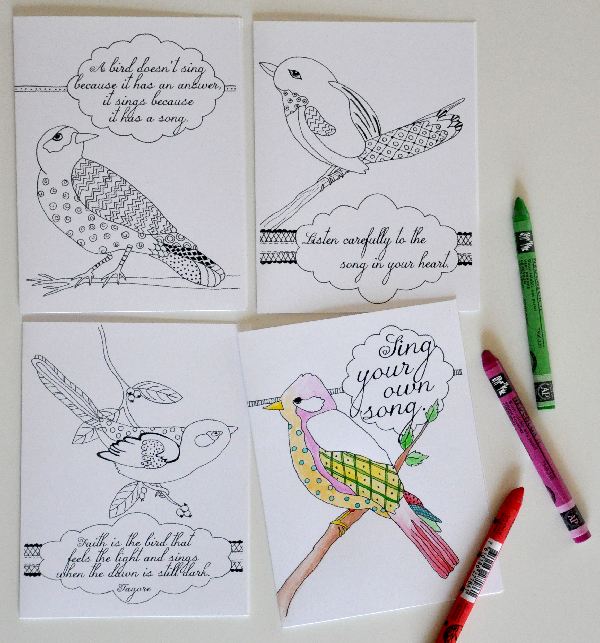 InspirationalBirdNoteCardsToColor-JacquelynneSteves