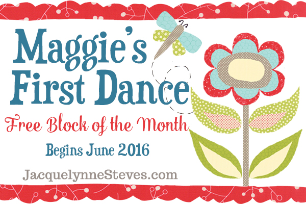 Our 2016 Free Block of the Month is almost here!