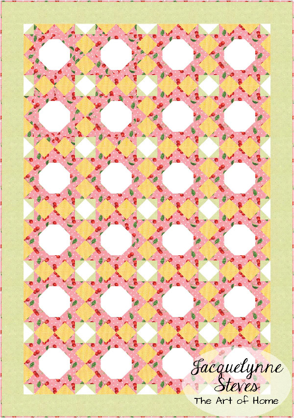 Oh Cherry Quilt-Alternate Layout2-Jacquelynne Steves