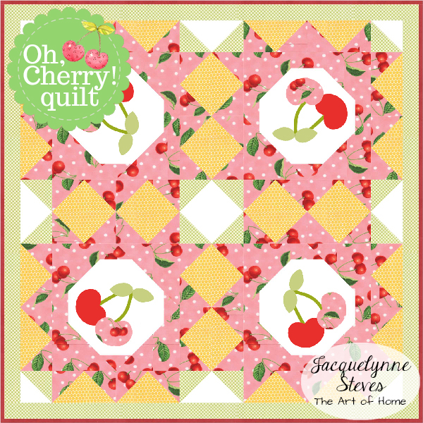 Small & Sweet Mini Quilt Club- Oh, Cherry!
