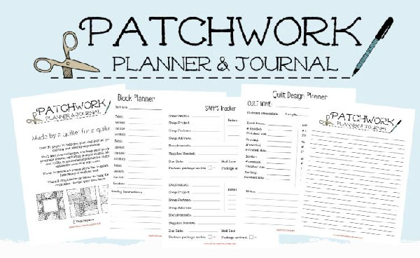 Patchwork Planner Giveaway!