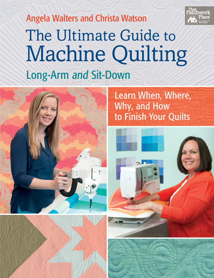 Book Review- The Ultimate Guide to Machine Quilting