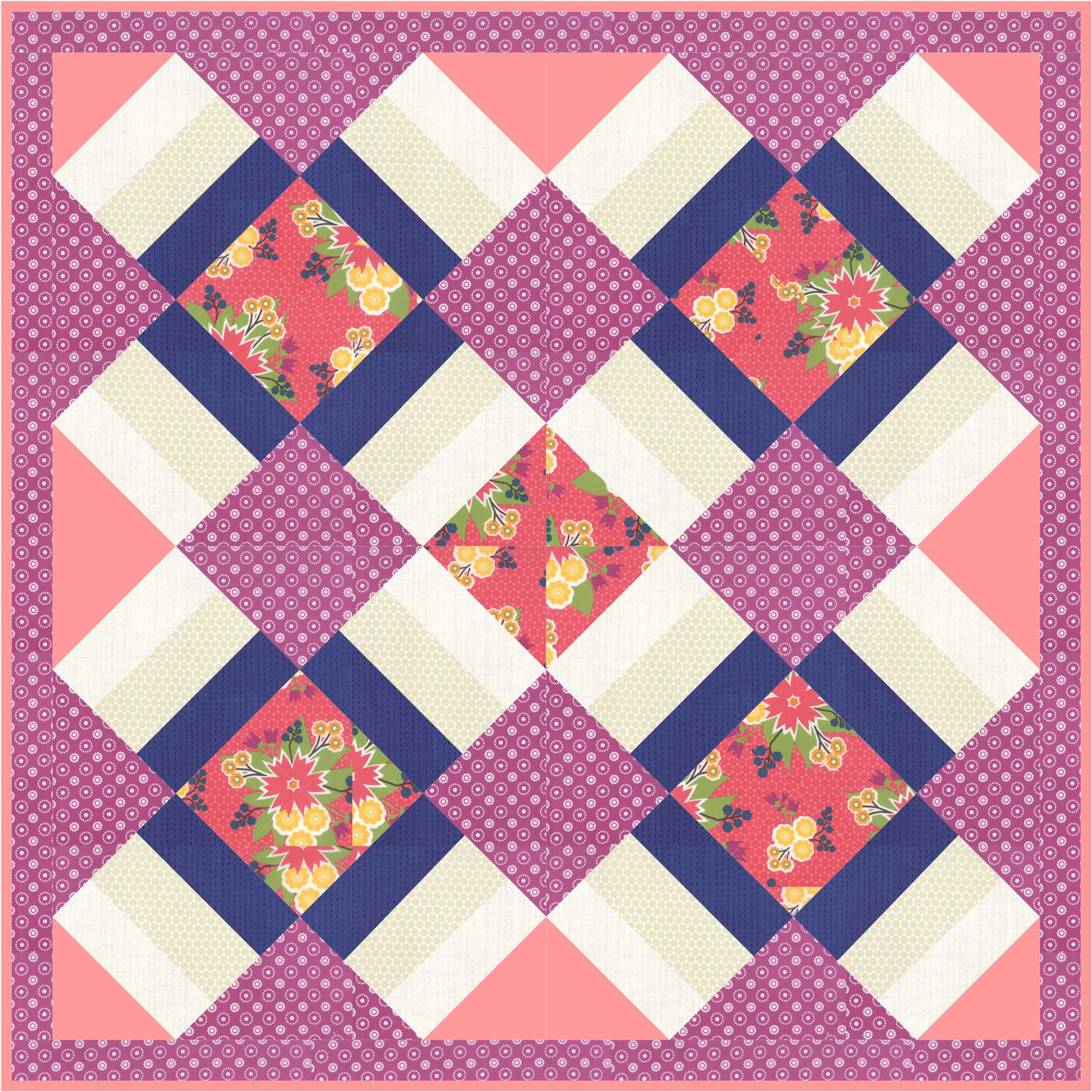 Chirp Quilt by Jacquelynne Steves