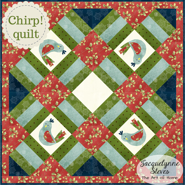 Chirp! Mini Quilt Pattern is here