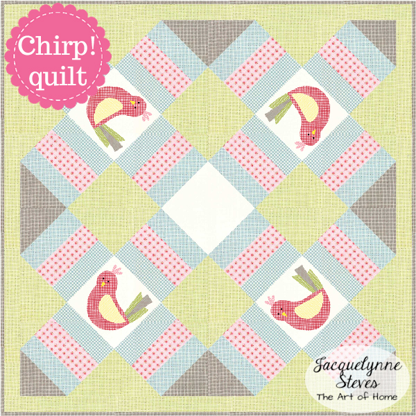 Chirp Quilt pattern by JacquelynneSteves