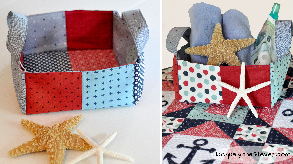 Colorful Patchwork Bags & Baskets Class