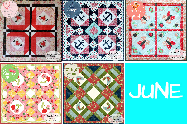 Small and Sweet Mini Quilt Club-Jacquelynne Steves