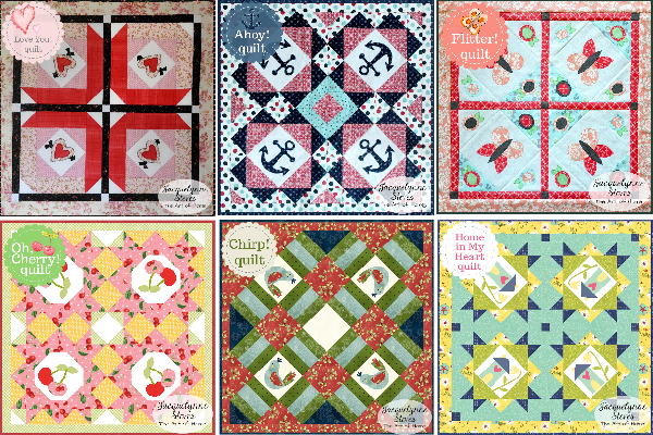 Small and Sweet Mini Quilt Club-Jacquelynne Steves-All Designs
