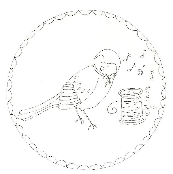 Bird StitcheryJacquelynneSteves
