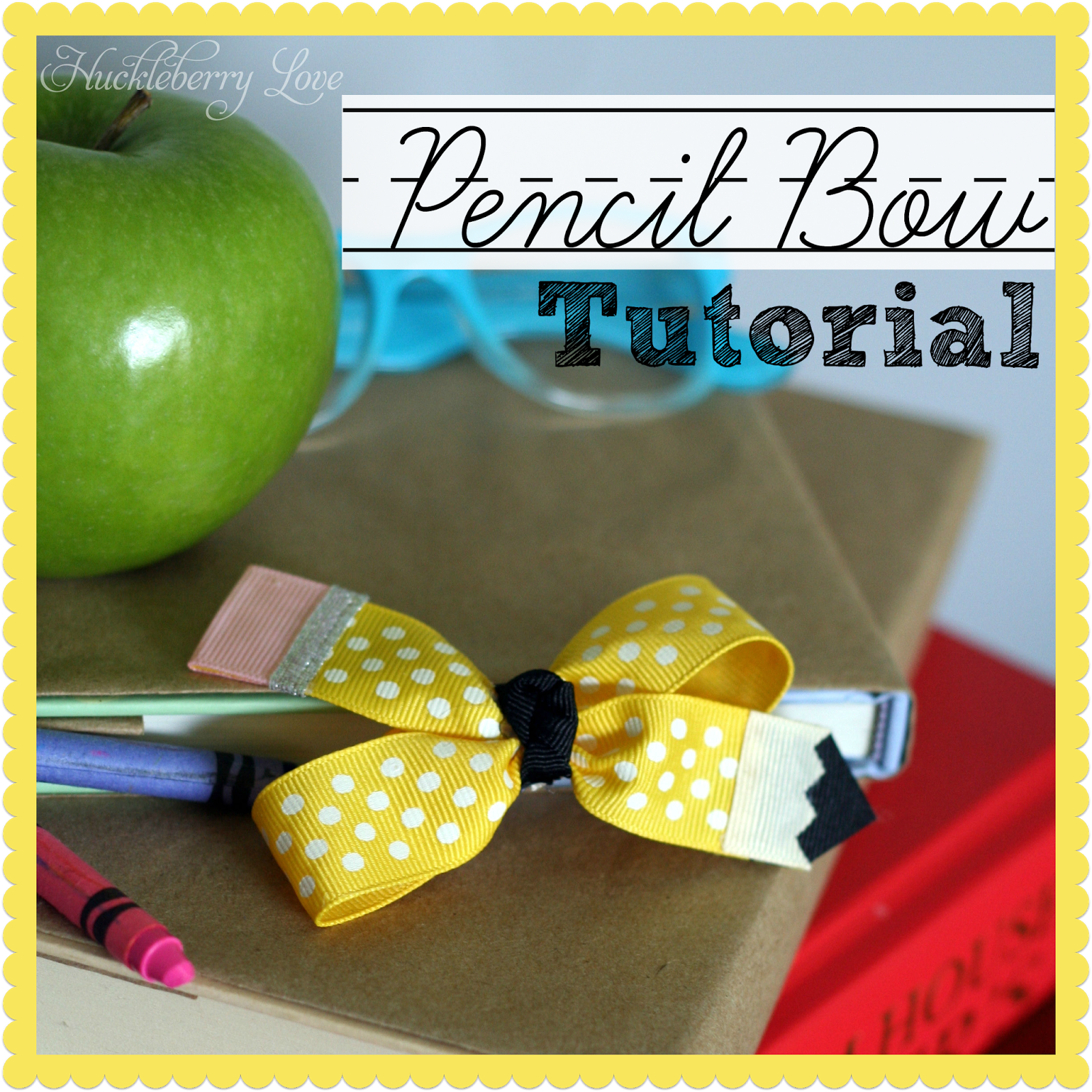 pencil bow feature photo
