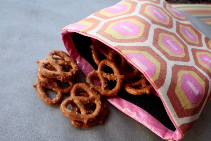 reuseable snack bag