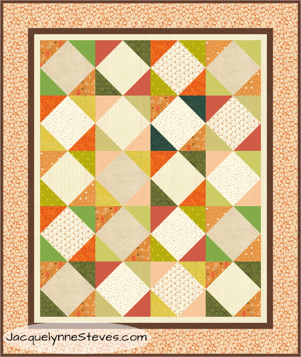 A Few Quick Fall Quilts….