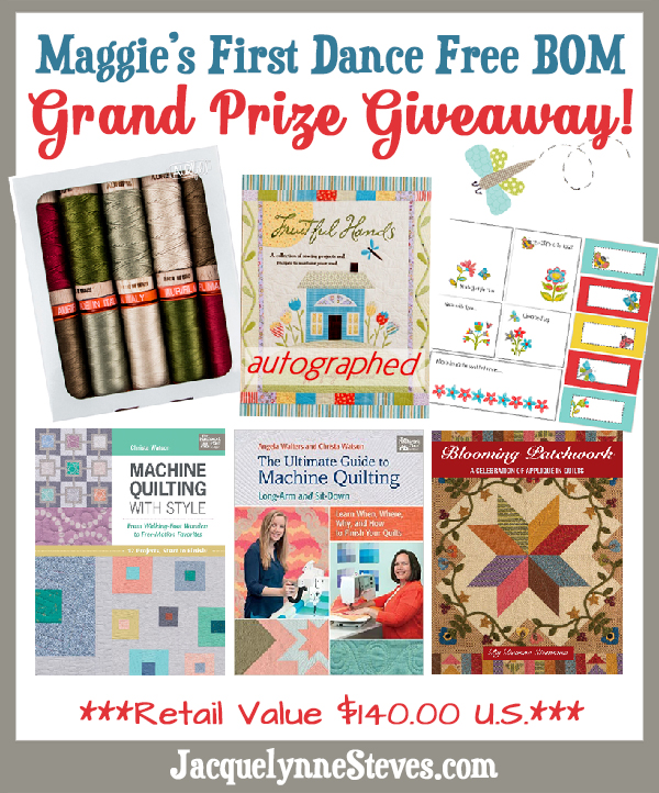 Maggie's First Dance Grand Prize Giveaway!!!