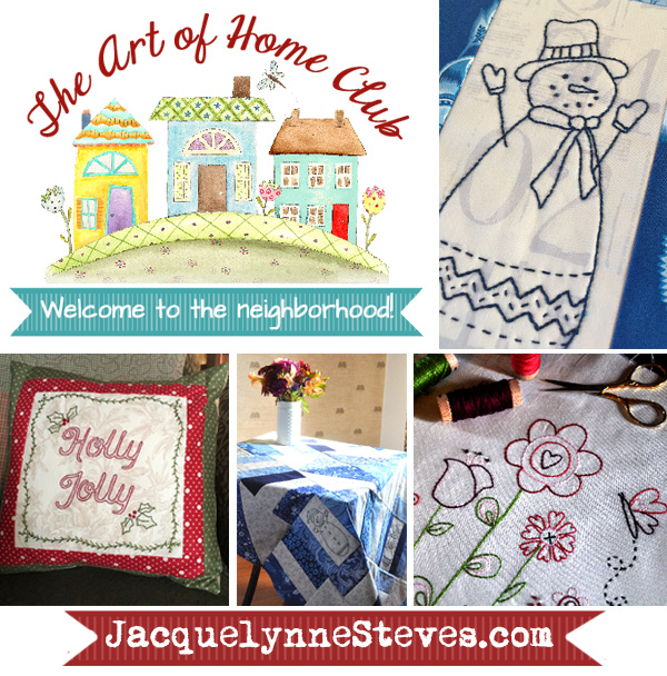 Enrollment Open for The Art of Home Club! Plus, Everything Patterns are available again!