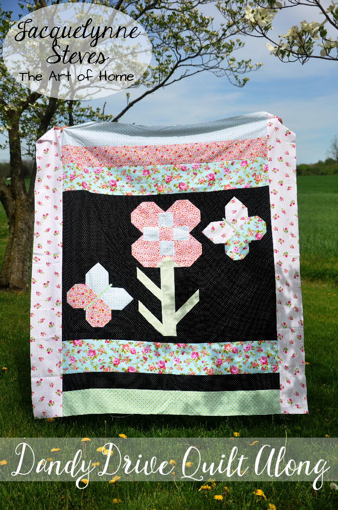 Dandy Drive Quilt Along- Week 5