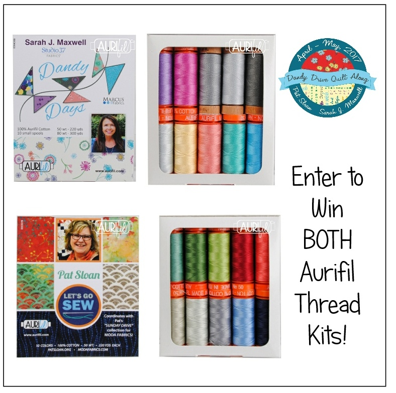 Dandy Drive Quilt Along Wrap Up & Giveaway