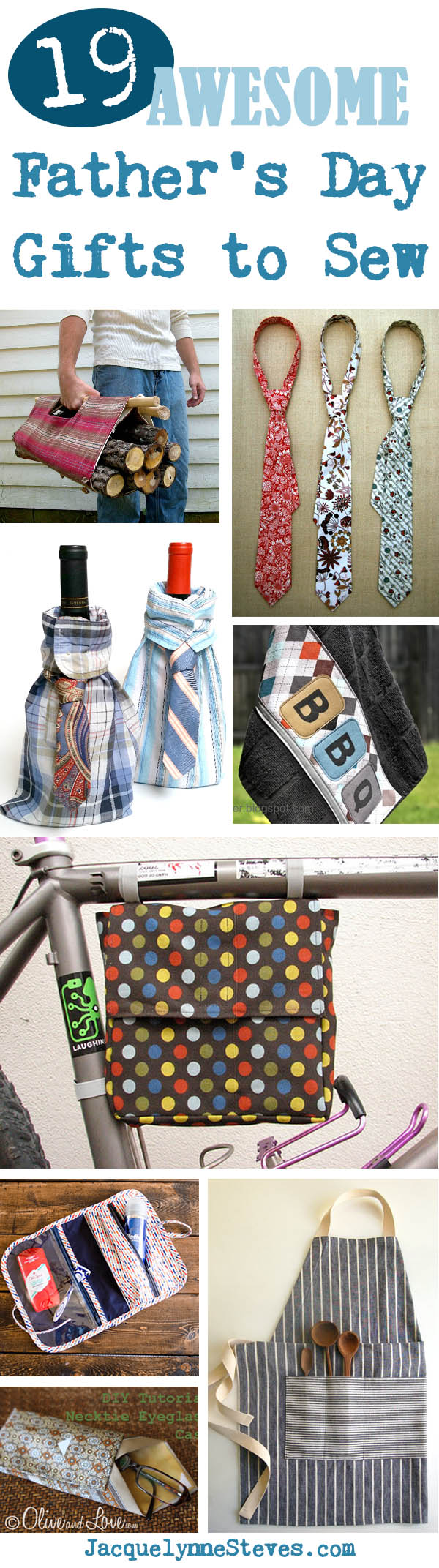 19 Awesome Father's Day Gifts to Sew!