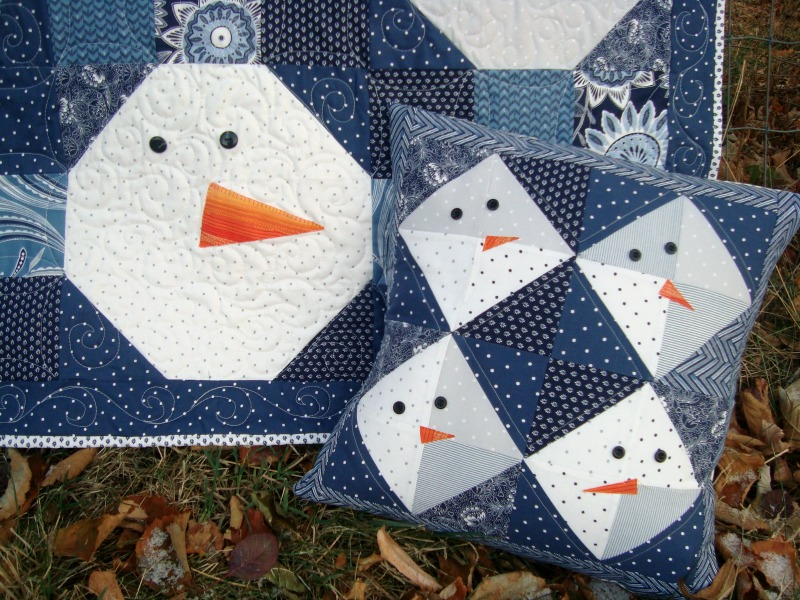 24 Free Snowman Projects To Sew Jacquelynne Steves
