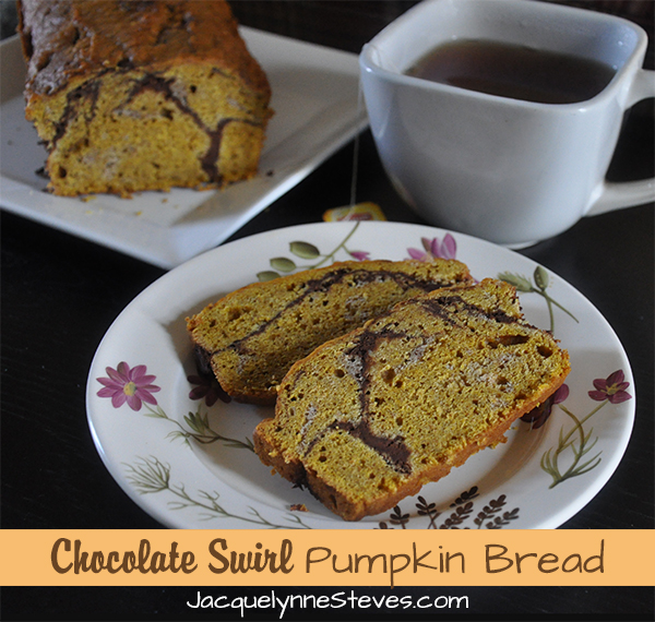 Chocolate Swirl Pumpkin Bread Recipe
