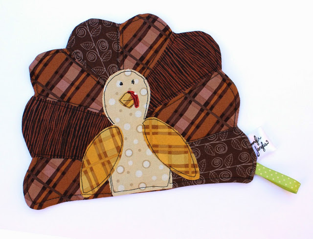 Free Thanksgiving Turkey Potholder Pattern