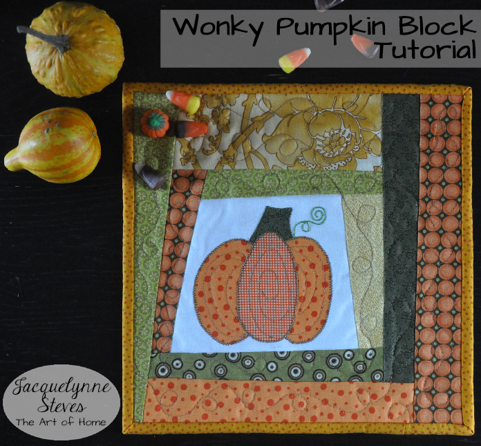 Free Pumpkin Block Pattern