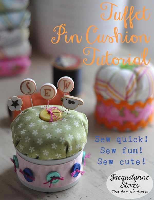 Tuffet Pin Cushion Tutorial