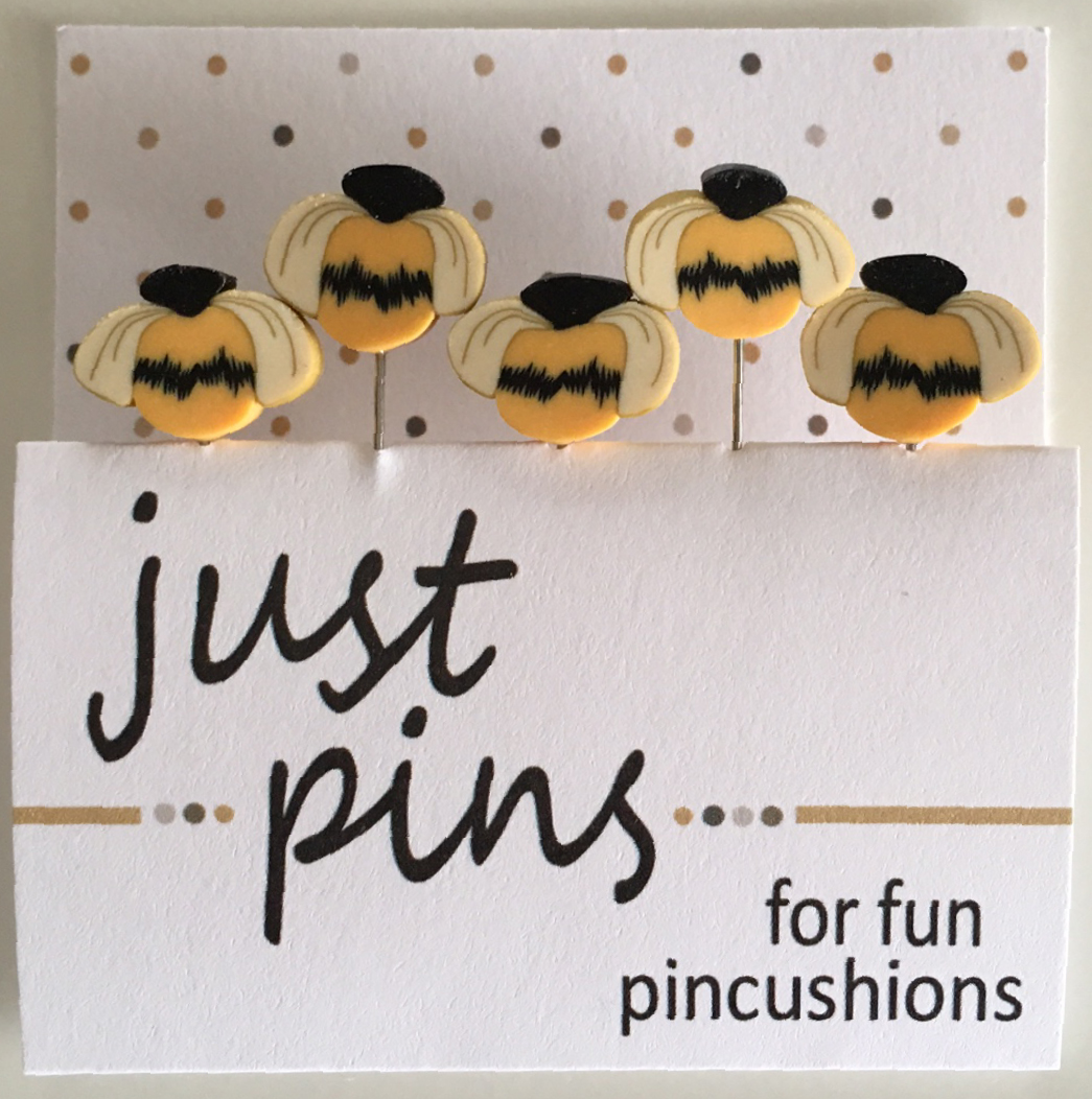 Free Bzzzy Bee Pin Cushion Pattern - Jacquelynne Steves