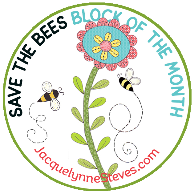 Fabric Requirements for Save the Bees Block of the Month