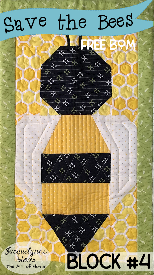 Save the Bees BOM Block 4 is here!