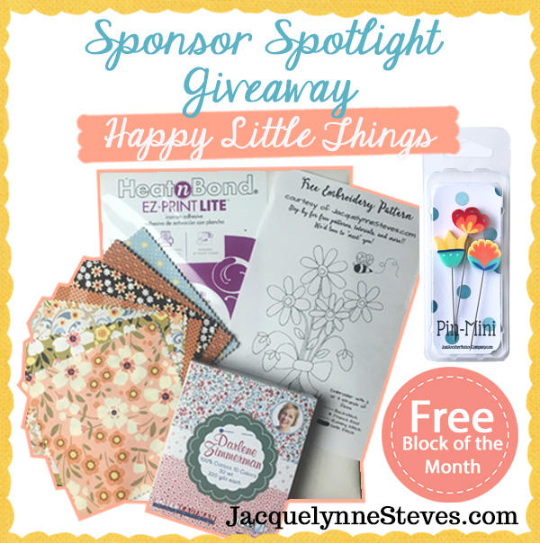 Happy Little Things FREE BOM Awesome GIVEAWAY, & Meet our Sponsors!
