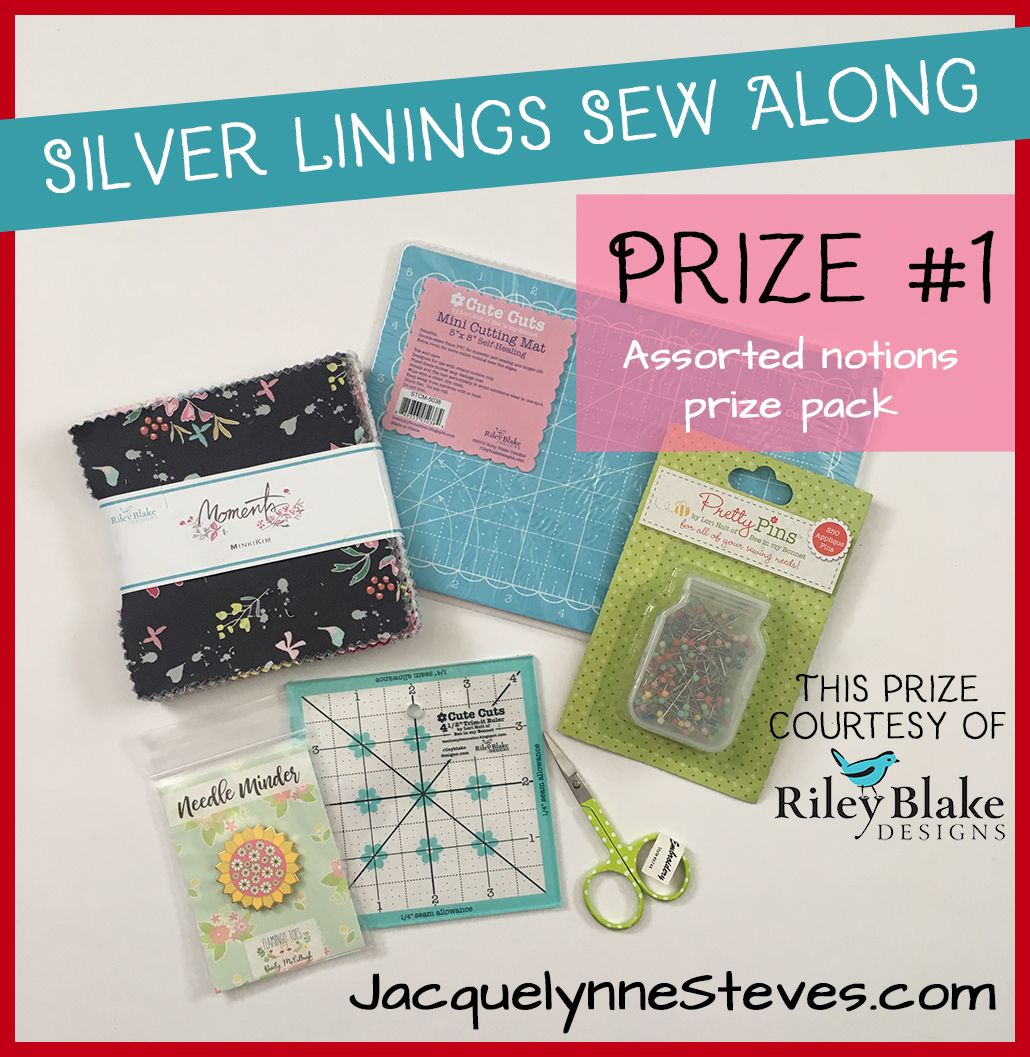 Silver Linings Sew Along Give Away!!