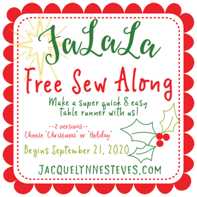 FaLaLa Sew Along – starting soon!