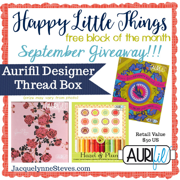 Happy Little Things BOM Block 2 is here!