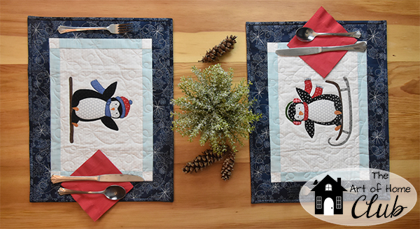 Penguin Party- Our newest collection for The Art of Home Club!
