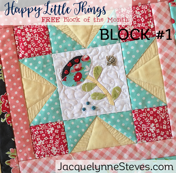 Happy Little Things Block 1 is here!