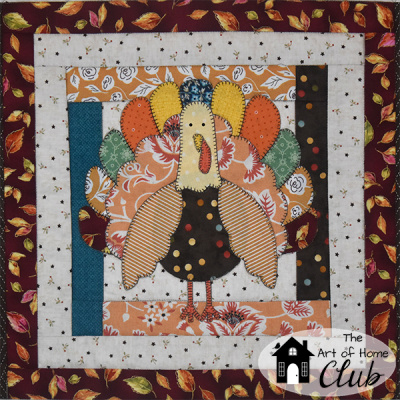 Turkey Time Quilt Pattern