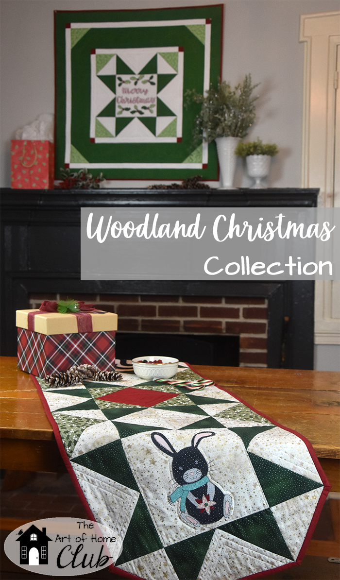 Woodland Christmas Quilt & Table Runner Pattern