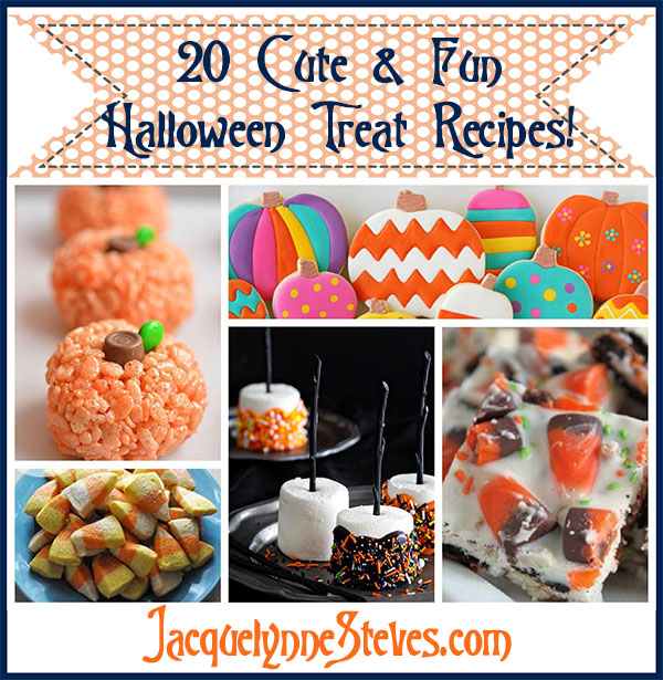 20 Fun & Cute Halloween Treat Recipes