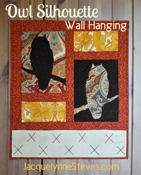 Free Quilted Owl Wall Hanging Pattern
