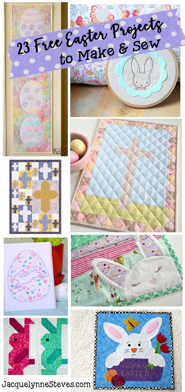 23 Free Easter Patterns to Sew