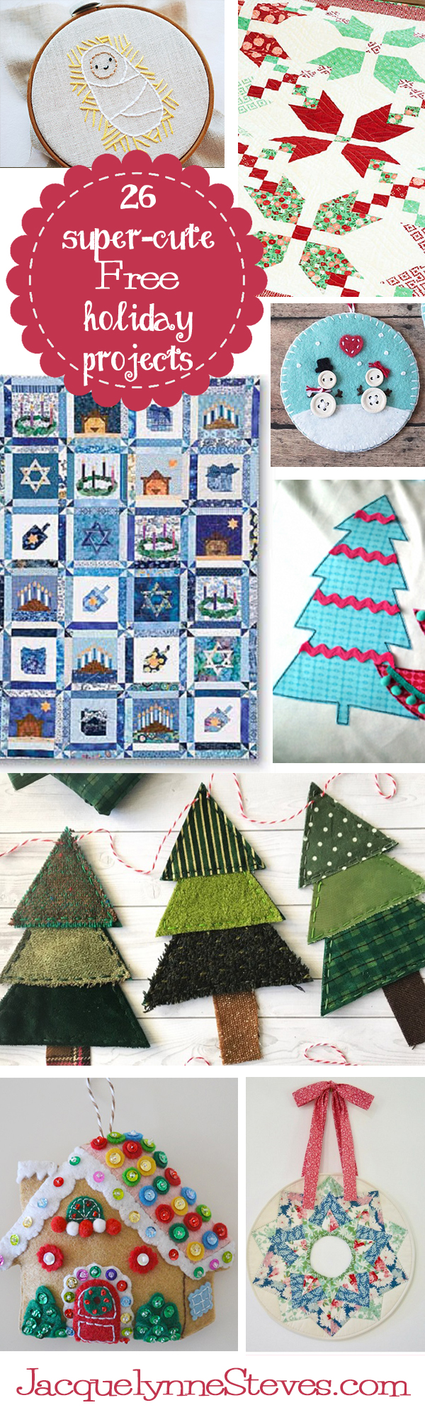 26 Free Holiday Projects!