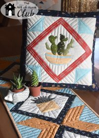 Needles Cactus Pillow- The Art of Home Club