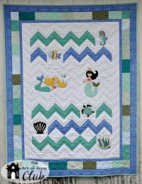 Under The Sea Quilt- The Art of Home Club- Jacquelynne Steves